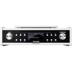 TechniSat DigitRadio 20 CD Unterbauradio UKW AUX, CD Weiß