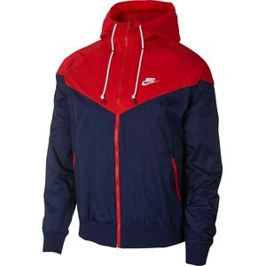 Nike Sportswear Herren Jacke dunkelblau / rot, Größe S, 4463806