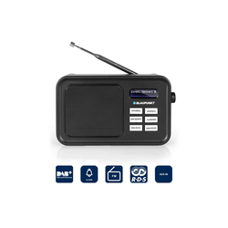 Blaupunkt RXD 60 DAB Digitalradio (DAB) (Digitalradio (DAB), Digital-Radio, LC-Display, Tragbares Radio)