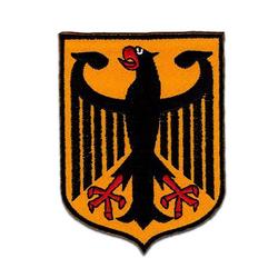 Catch the Patch Aufnäher, Polyester, Flagge Wappen Deutschland Adler Bundesadler - Aufnäher, Bügelbild, Aufbügler, Applikationen, Patches, Flicken, zum aufbügeln, Größe: