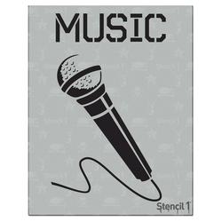 Stencil1 Microphone - Stencil 8.5