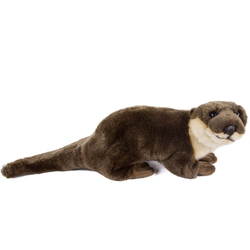 Teddys Rothenburg Kuscheltier Otter 40 cm Stoffotter Plüschotter (Fischotter)