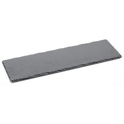 Schieferplatte, schwarz, 40 x 13 cm