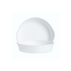 Arcoroc Salatschüssel Gastro Cook, Glas, Schale Stapelschale Schüssel 14.5x13.7cm 290ml Glas weiß 1 Stück 14.5 cm x 13.7 cm x 3.2 cm