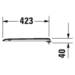 Duravit WC-Sitz D-Code (2-St)