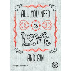 Gin Postkarte No.8