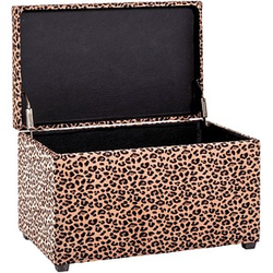 HAKU Möbel   Sitztruhe Leopard