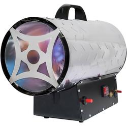 ROWI Gas-Heizgebläse HGH 30000/5 Inox, 30 kW silberfarben