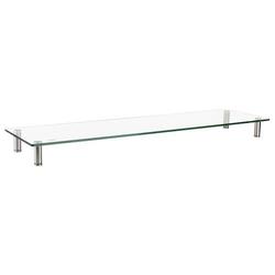 LogiLink Monitorerhöhung/-tisch aus Glas, 1m lang, max. 20 kg
