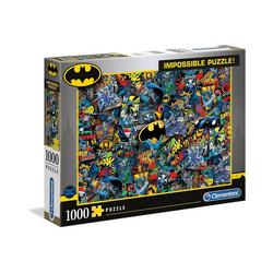 Clementoni® Puzzle Impossible Puzzle 1000 Teile - Batman, Puzzleteile