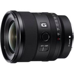 Sony SEL20F18G Weitwinkelobjektiv, (Vollformat E Mount (FE 20mm F1.8, Ultraweitwinkel)