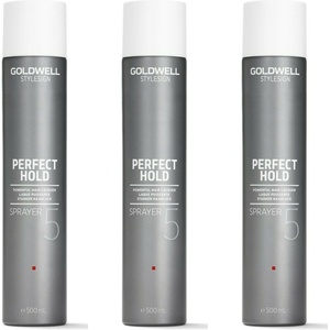 Goldwell Style Sign Perfect Hold Sprayer 3x500 ml