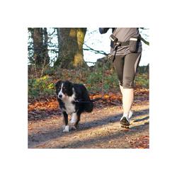 TRIXIE Hundeleine, Nylon, mit Bauchgurt 60-120 cm, 1,35 Meter