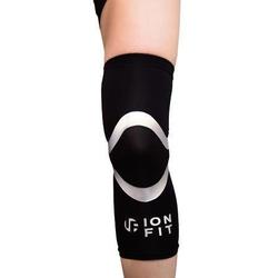 IONFIT Kniebandage Knie-Bandage, mit Silberionen XL - 49 cm - 53 cm