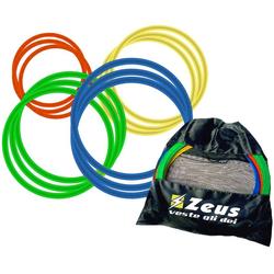 Zeus 12 szt. Pierścienie koordynacyjne Zestaw 60 cm z torbą - Rozmiar: rozmiar uniwersalny