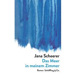 Das Meer in meinem Zimmer als Buch von Jana Scheerer