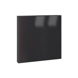Serafini Briefkasten Serafini Briefkasten Square tiefschwarz quadratisch 36 x 36 x 10 cm Postkasten
