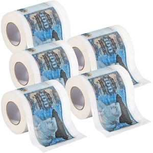 "Retro-Toilettenpapier ""100 D-Mark"", 5 Rollen"