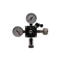 ich-zapfe Druckminderer Druckminderer 1-leitig CO2 für Bier Zapfanlage 3bar - Major