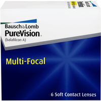 Bausch + Lomb PureVision Multi-Focal 6 St. / 8.60 BC / 14.00 DIA / -1.25 DPT / High ADD