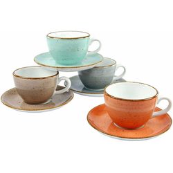 CreaTable Tasse VINTAGE NATURE (8-tlg)
