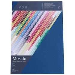 artoz Briefpapier Mosaic marine DIN A4 90 g/qm 25 Blatt