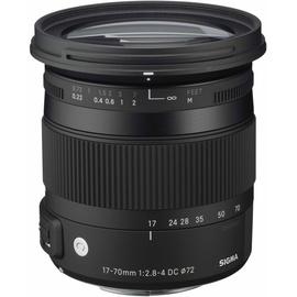 Sigma 17-70 mm F2,8-4,0 DC Makro OS HSM (C) Nikon F