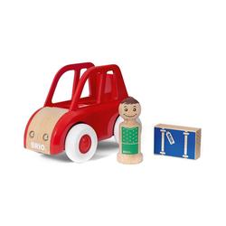 BRIO® Spielzeug-Auto 3-tlg. Holz Stadt-Auto Set My Home Town