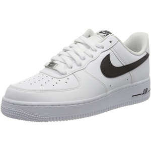 Nike Herren Air Force 1 '07 An20 Basketballschuh, White/Black, 40 EU