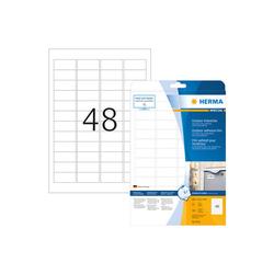 Herma Outdoor Klebefolie Nr. 9531 45,7 x 21,2 mm (BxH) weiß