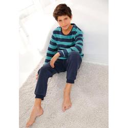 Arizona Pyjama aus Frottee, mit Bündchen 146/152