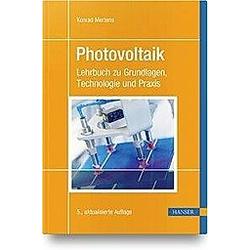 Photovoltaik. Konrad Mertens  - Buch