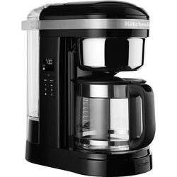 KitchenAid Filterkaffeemaschine KitchenAid 5KCM1209EOB, 1,7l Kaffeekanne, goldfarbener Permanentfilter, Drip-Kaffeemaschine mit spiralförmigem Wasserauslass