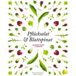 Pflücksalat & Blattspinat als Buch von Yvonne Schwarzinger/ Herbert Lehmann