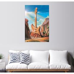 Posterlounge Wandbild, Guitar Rock 61 cm x 91 cm