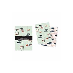 Geschenk-/Bastelpapier Set Weihnachten (VE3)