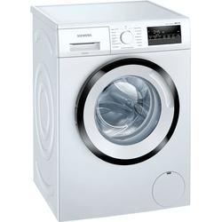 SIEMENS Waschmaschine WM14N242, iQ300, WM14N242 D (A bis G) weiß Waschmaschinen Haushaltsgeräte