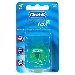 Oral B Satin Tape - Mynte - 25m
