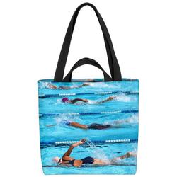 VOID Henkeltasche (1-tlg), Schwimmen Wettkampf Sport Schwimmen Schwimmbad Urlaub Pool Schwimmbecken