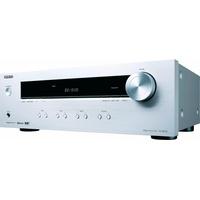 Onkyo TX-8220 2-Kanal Audio-Receiver mit Bluetooth silberfarben