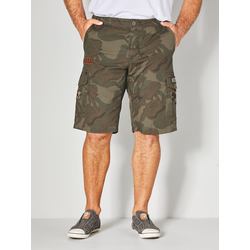 Cargo Bermuda Men Plus Oliv