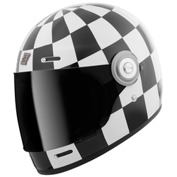 Bogotto V135 Diamante Helm, zwart-wit, XL