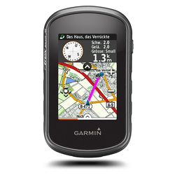 Garmin eTrex Touch 35 Fahrrad-Navi schwarz Fahrrad-Navigationsgerät