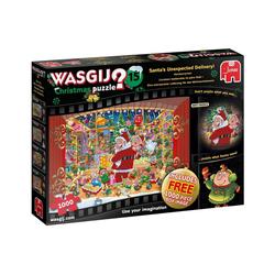 Jumbo Spiele Puzzle Wasgij Christmas 15 Für den Weihnachtsmann, 1000 Puzzleteile
