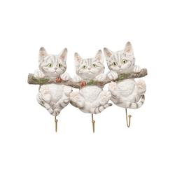KARE Garderobe Wandhaken Three Mini Cats