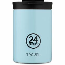 24Bottles Pastel Travel Filiżanka do picia 350 ml cloud blue