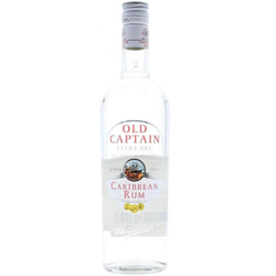 Old Captain White Rum 0,70L (37,50% Vol.)