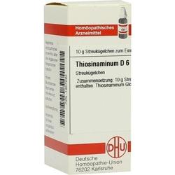 THIOSINAMINUM D 6 Globuli 10 g