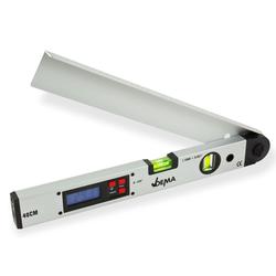 Digitaler Winkelmesser mit Wasserwaage 40 cm Winkelmessgerät Gradmesser