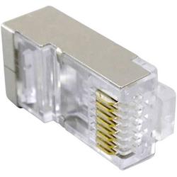 TRU Components Modularstecker vollgeschirmt Cat.5e 1577829